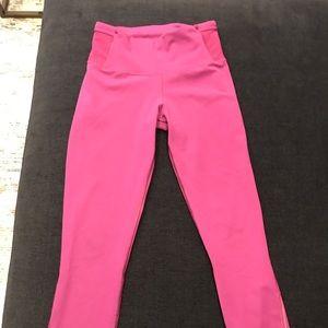 Lululemon fuschia 7/8 leggings